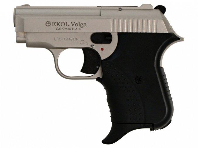 Plynová pistole Ekol Agent Volga satén nikl cal.9mm