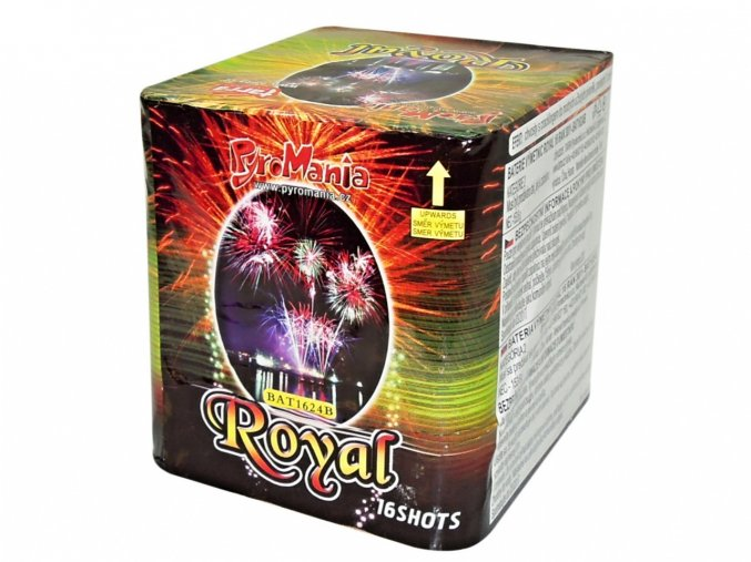 Pyrotechnika Kompakt 16ran / 25mm Royal
